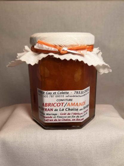 Confiture Abricot amande Safran