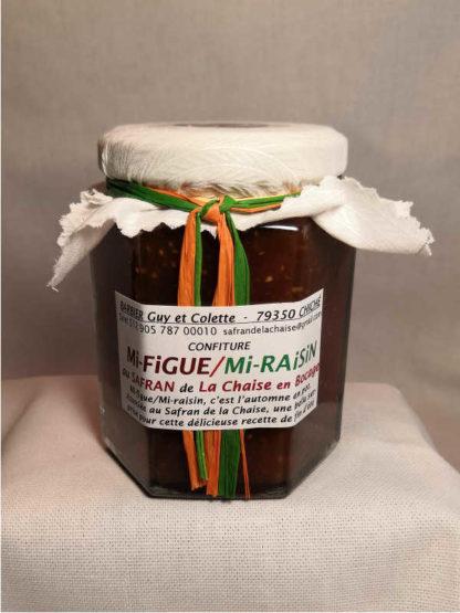 Confiture figue raisin safran
