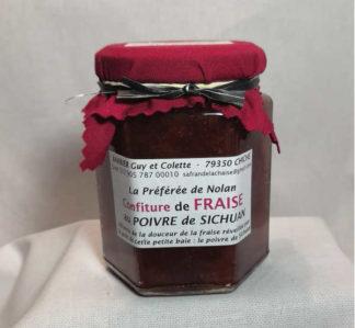 confiture fraise poivre de sichuan