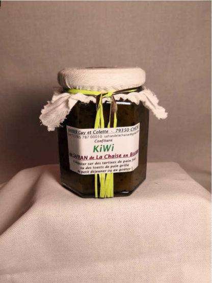 Confiture Kiwi Safran